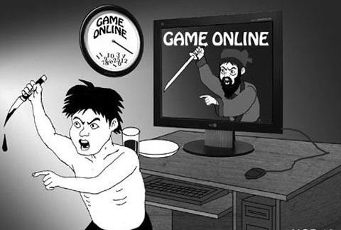 Kết quả hình ảnh cho tác hại của game