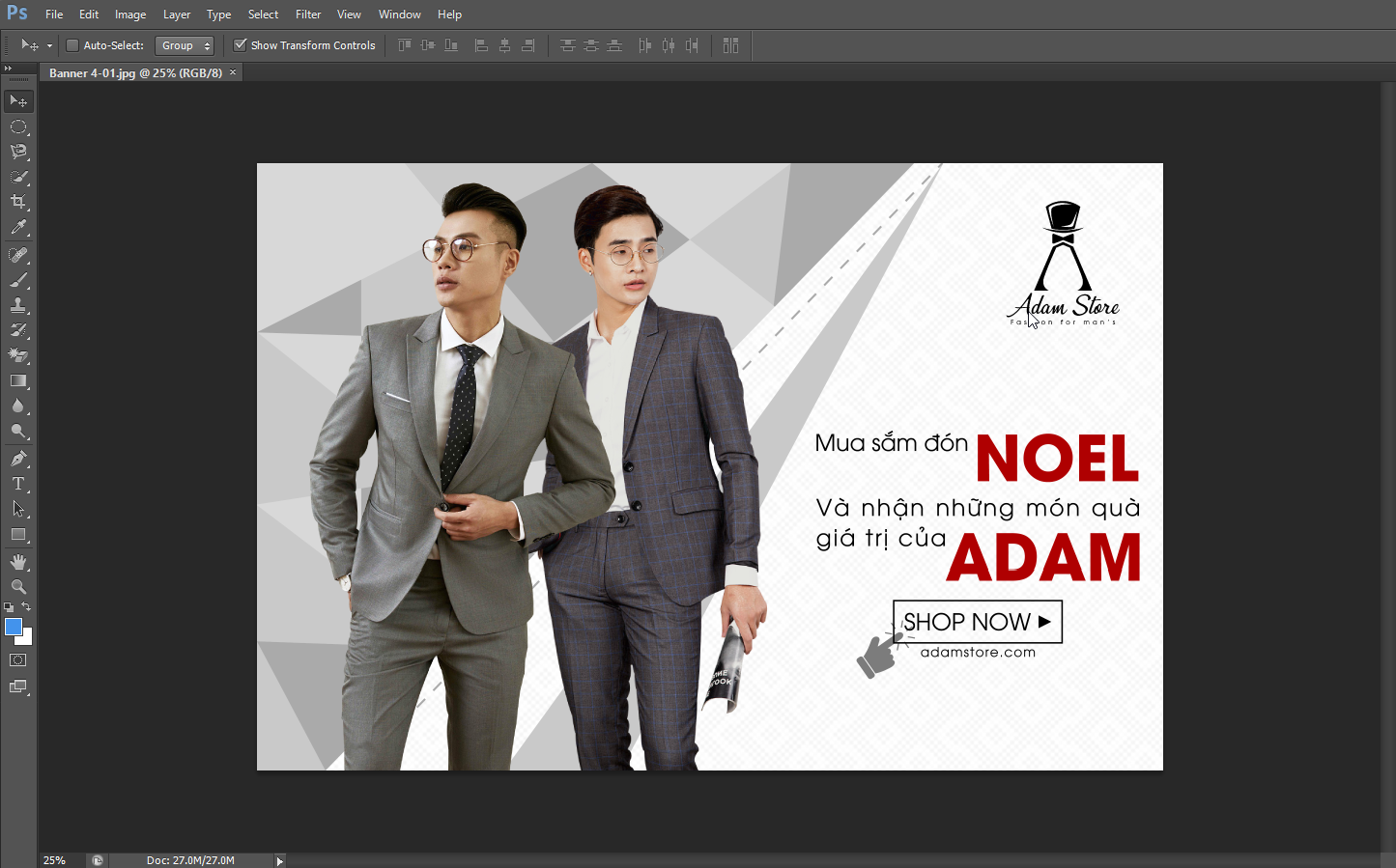 Những cách chèn logo hàng loạt trong photoshop